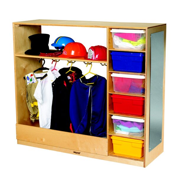 Dress-Up Double Sided 6 Compartment Cubby by Child