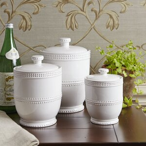 Milford 3 Piece Kitchen Canister Set