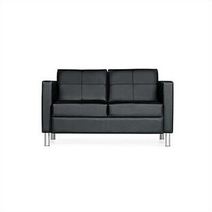 Citi Leather Sofa Global Total Office