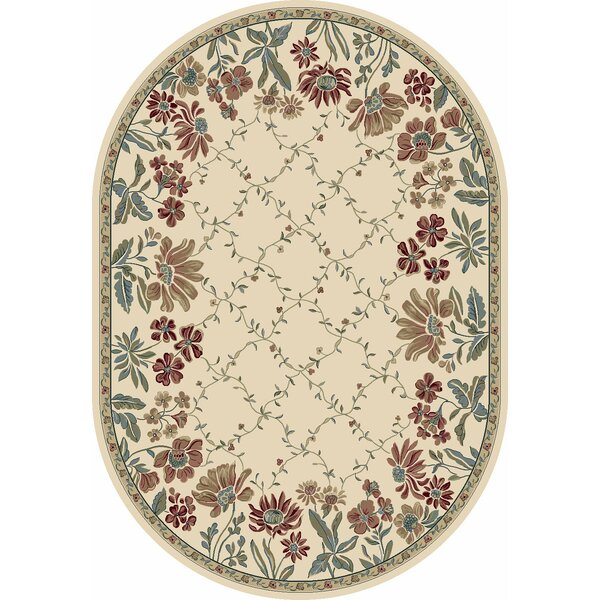 Angie Persian Ivory Area Rug by Charlton Home