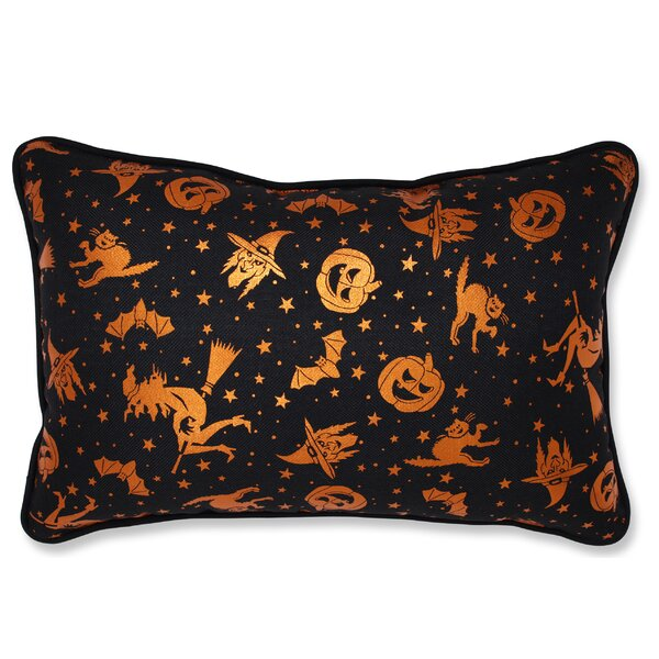 Dorsey Metallic Halloween Bolster by The Holiday Aisle
