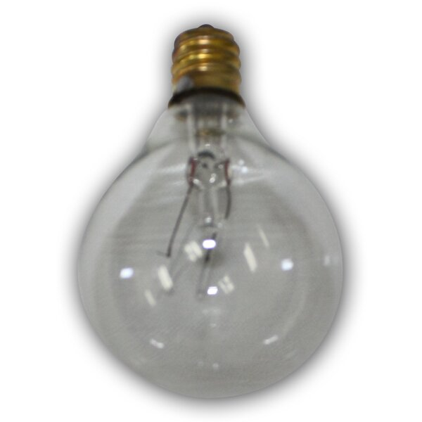 5W E12 Incandescent Vintage Filament Light Bulb by Aspen Brands