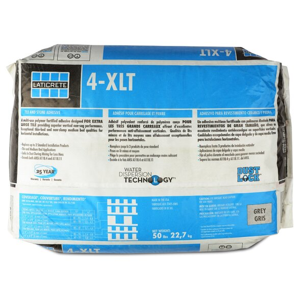 4-XLT Large Format Tile Grout 50 Lb by Laticrete