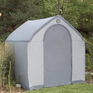 StorageHouse 6 Ft. W X 6 Ft. D Plastic Portable Tool Shed