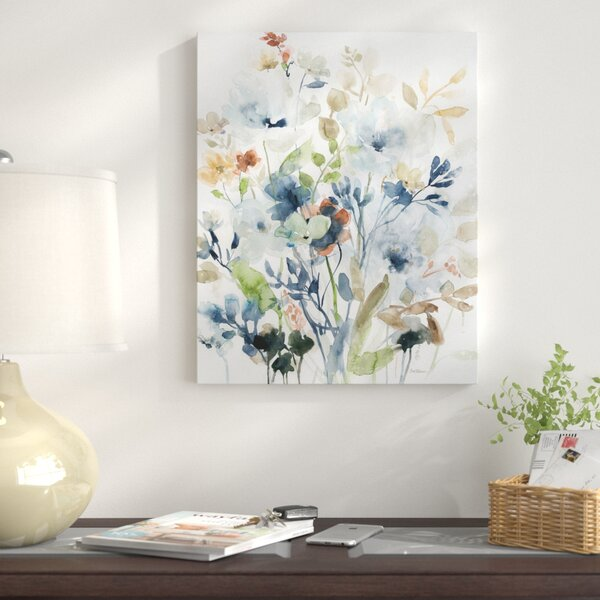 Holland Spring Mix I Oil Painting Print On Wrapped Canvas By Winston Porter.