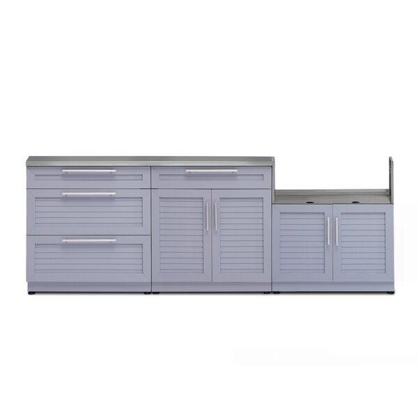 @ Kitchen 4 Piece Outdoor Bar Center Set by NewAge Products| #$2,949.99!