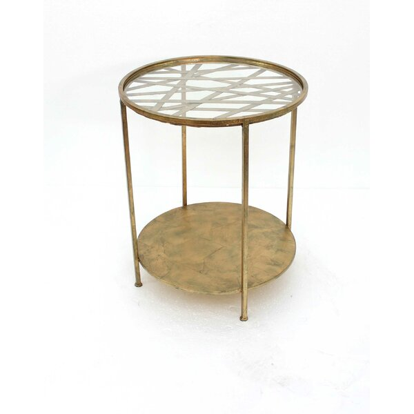 Freetown Round End Table by Everly Quinn