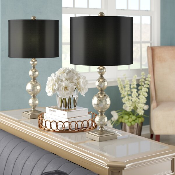Varya Mercury 28 Table Lamp (Set of 2) by Willa Arlo Interiors