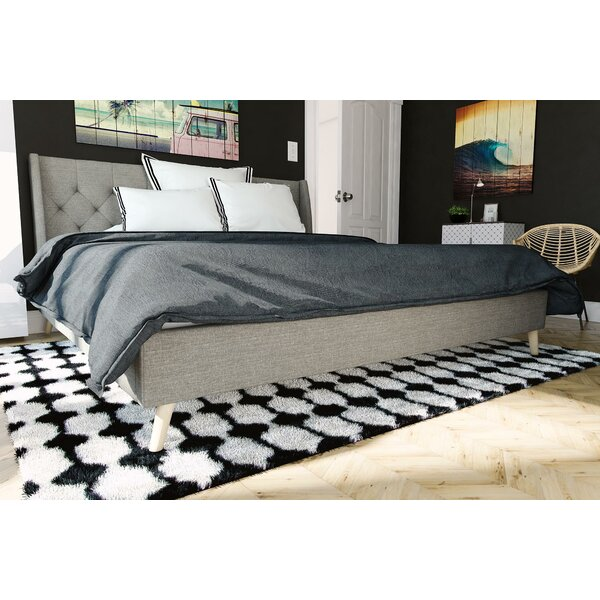 Amazing Her Majesty Upholstered Platform Bed By Novogratz Discount