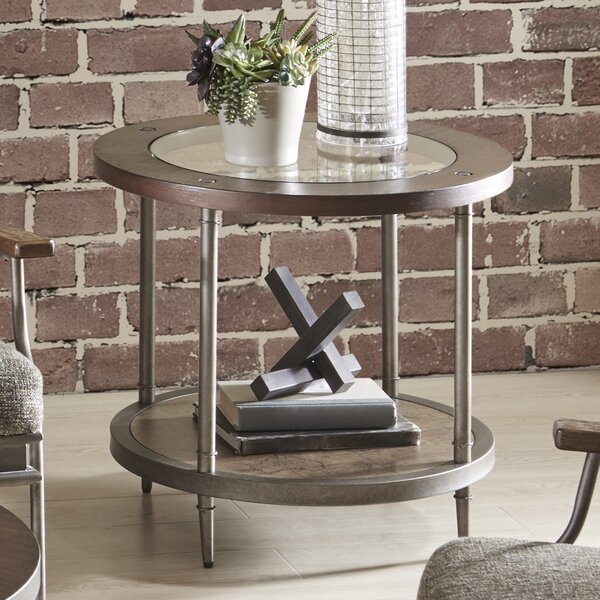 Quinonez End Table With Storage By Gracie Oaks