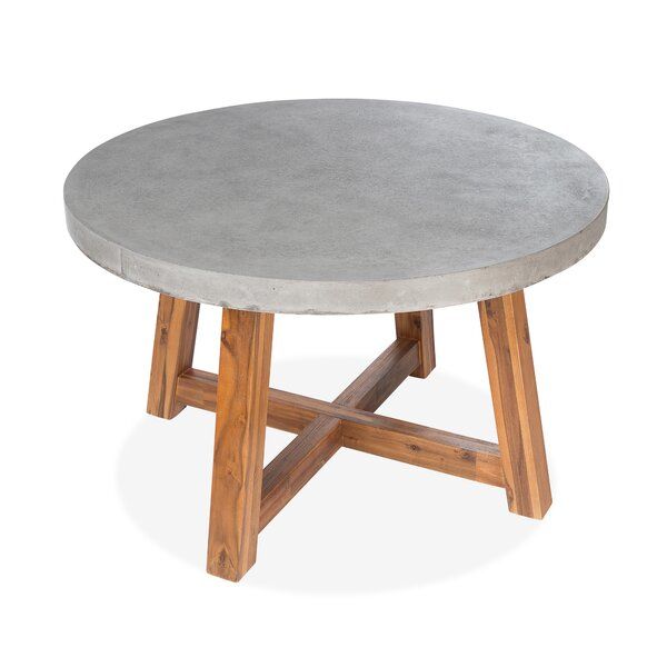 Colegrove Concrete Dining Table by Foundry Select