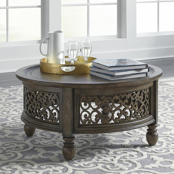 Gandy Coffee Table with Tray Top by Astoria Grand Astoria Grand