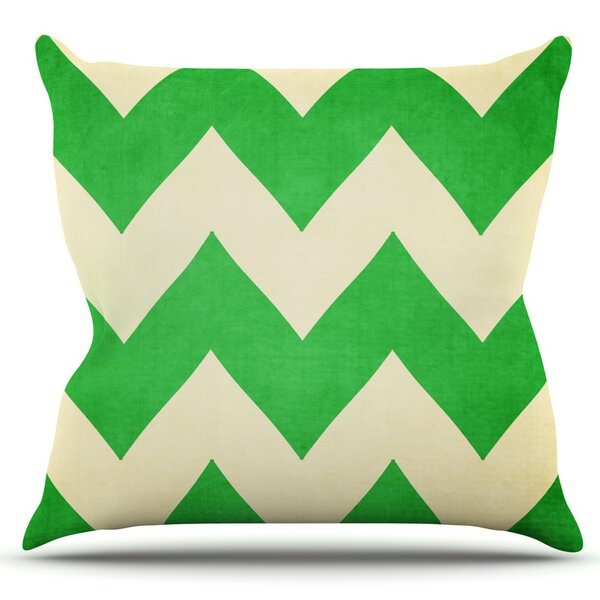 Granny Smith by Catherine McDonald Outdoor Throw Pillow by East Urban Home
