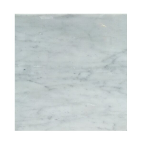 18 x 18 Natural Stone Field Tile in Carrara by Mulia Tile