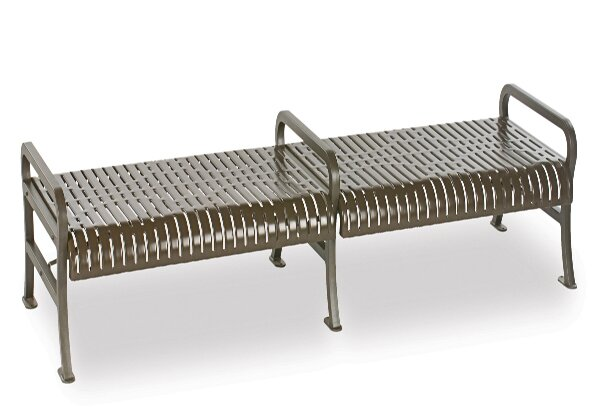 Courtyard Series Iron Picnic Bench by Wabash Valley