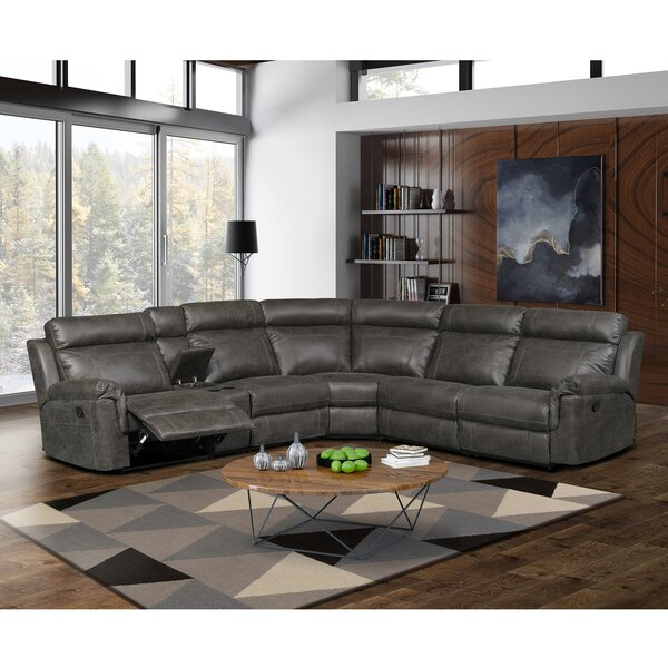 Kuo Right Hand Facing Reclining Sectional