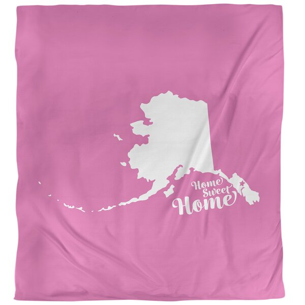 Home Sweet Juneau Single Duvet Cover