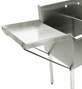 Detachable Drainboard by Advance Tabco