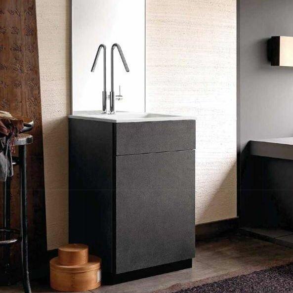 City1 24 Single Bathroom Vanity Set by Acquaviva