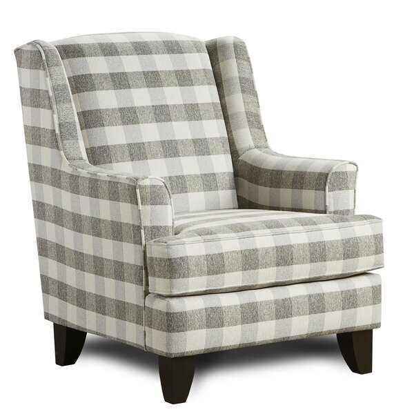 Kaidence Wingback Chair by Darby Home Co Darby Home Co