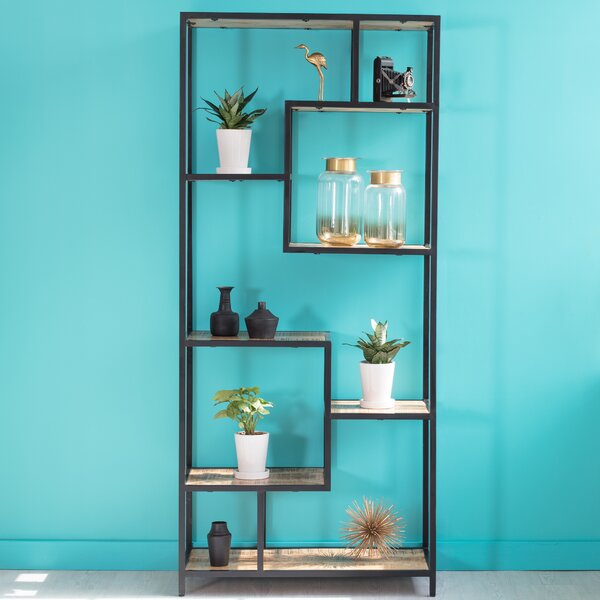 Poling Geometric Bookcase By Foundry Select
