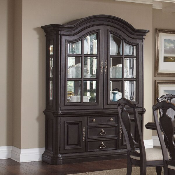 Ikin China Cabinet by Canora Grey
