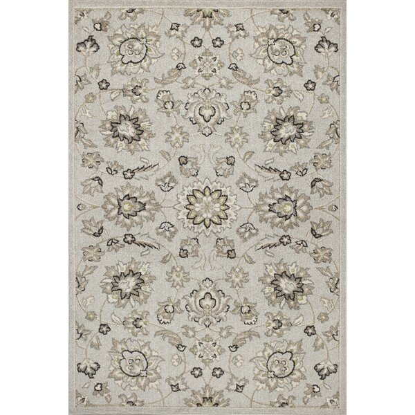 Hershel Silver Indoor/Outdoor Area Rug by Andover Mills