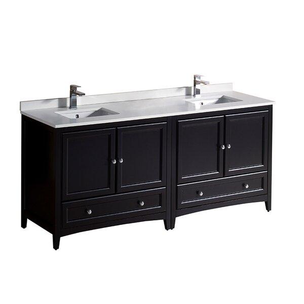 Oxford 72 Double Bathroom Vanity Set