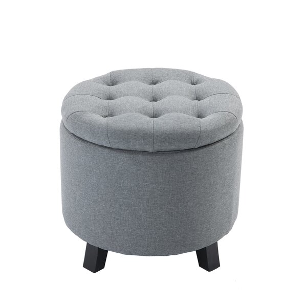 Velasco Tufted Storage Ottoman by Charlton Home