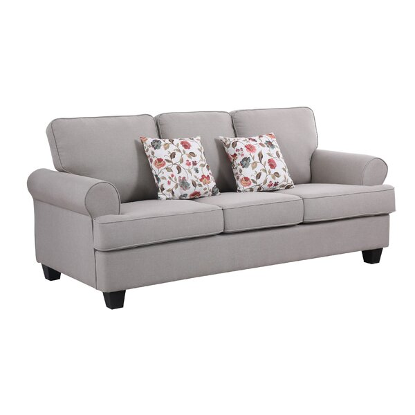 Ashkum Recessed Arms Sofa By Alcott Hill