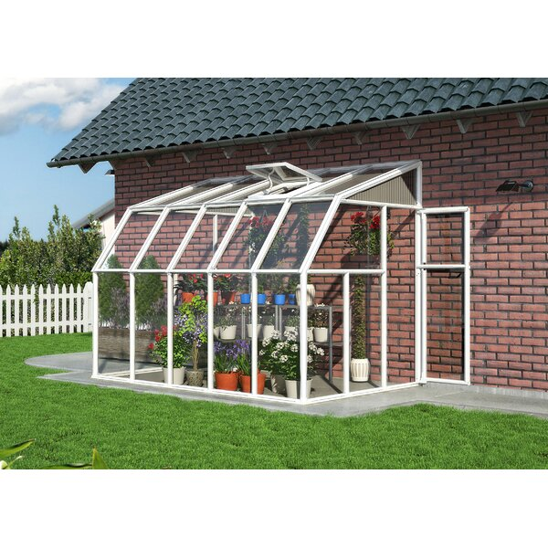 Sun Room 2 6.5 Ft. W x 10.5 Ft. D Greenhouse by Rion Greenhouses