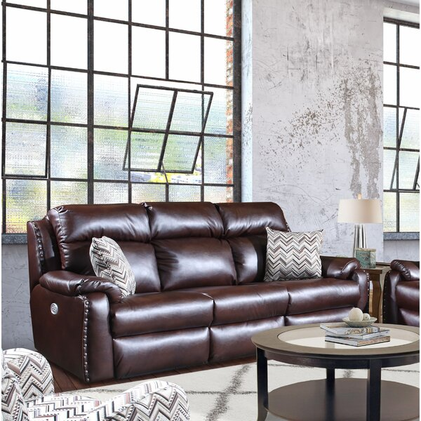 Hot Price Ribbon Reclining Sofa by Southern Motion by Southern Motion