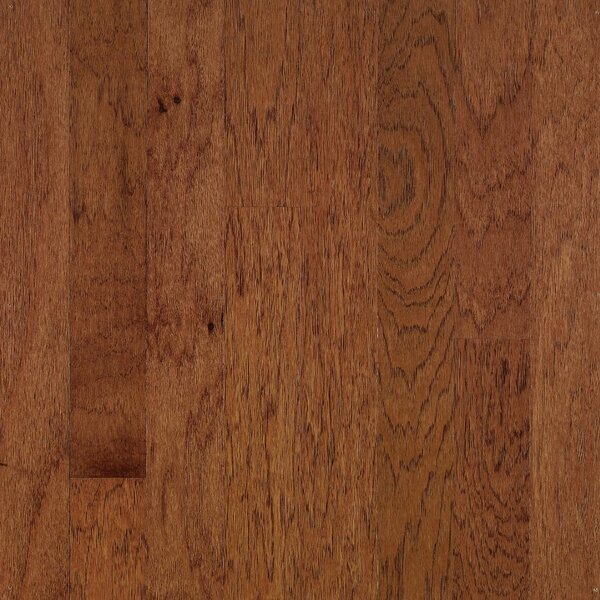 Turlington 3 Engineered Hickory Hardwood Flooring in Wild Cherry and Brandywine by Bruce Flooring