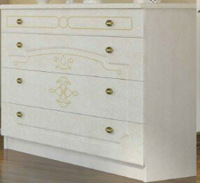 Melinda 4 Drawer Standard Dresser/Chest by Charlton Home