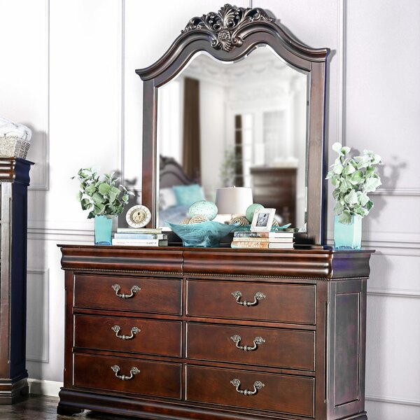 Waltham 6 Drawer Double Dresser by Astoria Grand