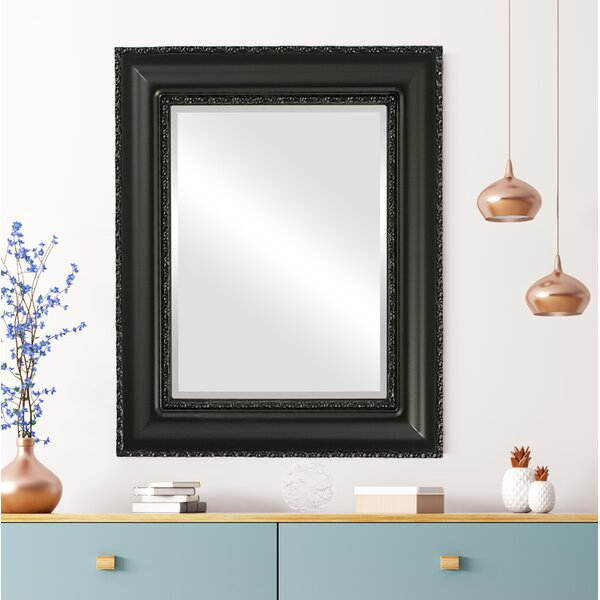 Wine Framed Rectangle Accent Mirror by House of Hampton