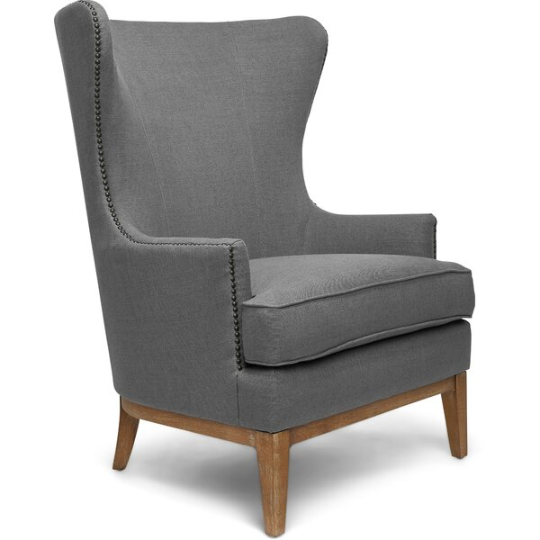 Delucia Wingback Chair by Darby Home Co Darby Home Co