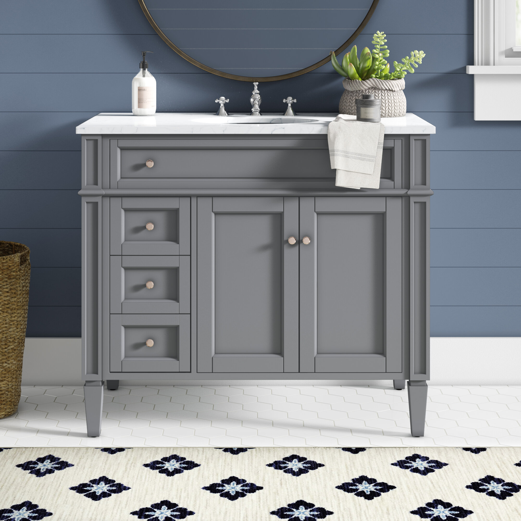Antionette 40 Single Bathroom Vanity