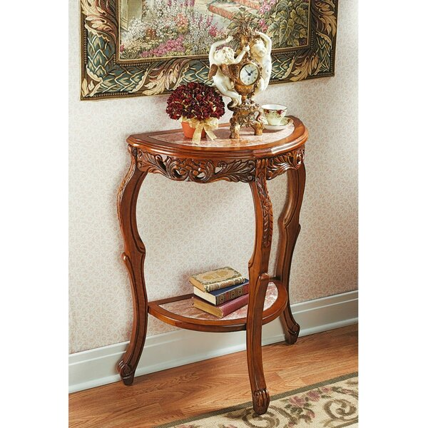 Lady Juliet's Marble Topped Console Table By Design Toscano