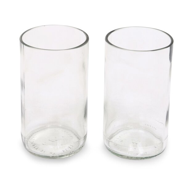 11 Oz. Highball Glass (Set of 2) by Novica
