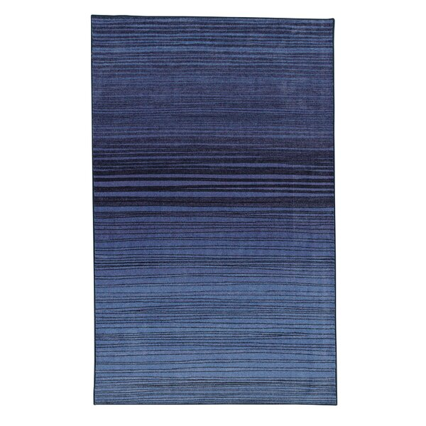 Amblewood Horizon Navy Area Rug by Bungalow Rose