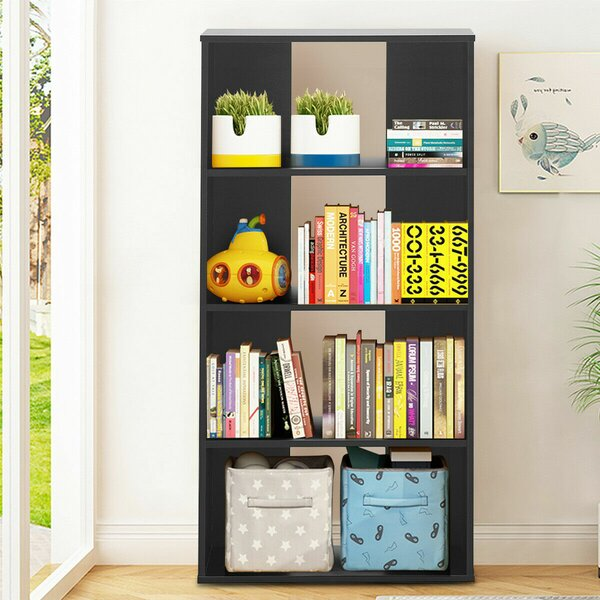 Collyer Multipurpose Display Unit Standard Bookcase by Ebern Designs Ebern Designs