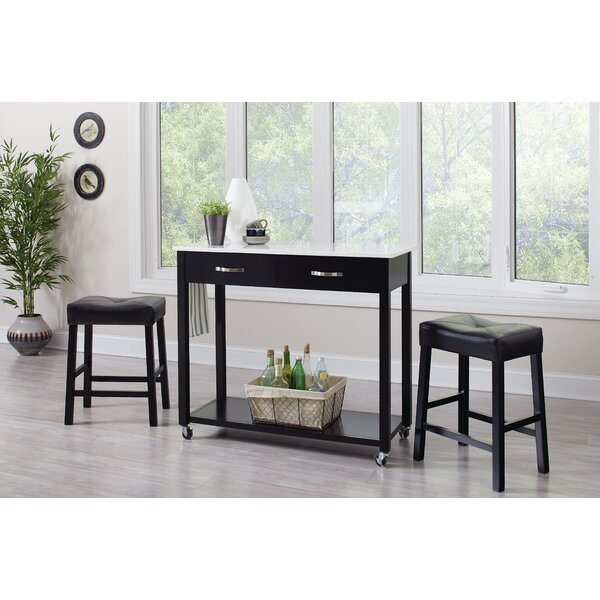 Danae 3 Piece Dining Set by Latitude Run