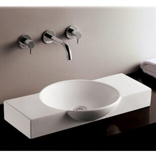 Best Reviews Isabella Ceramic Specialty Vessel Bathroom Sink By Whitehaus Collection