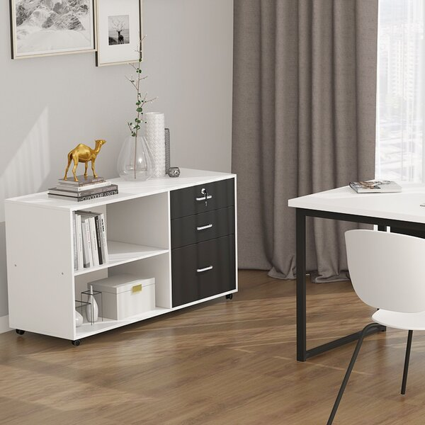 Madewell 3-Drawer Lateral Filing Cabinet