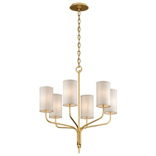 Check Prices Obando 6-Light Shaded Chandelier By Union Rustic