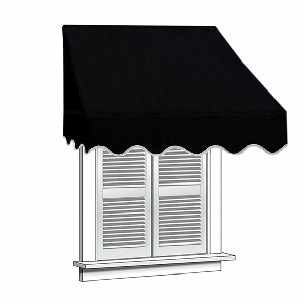 6 ft. W x 2 ft. D Window Awning by ALEKO