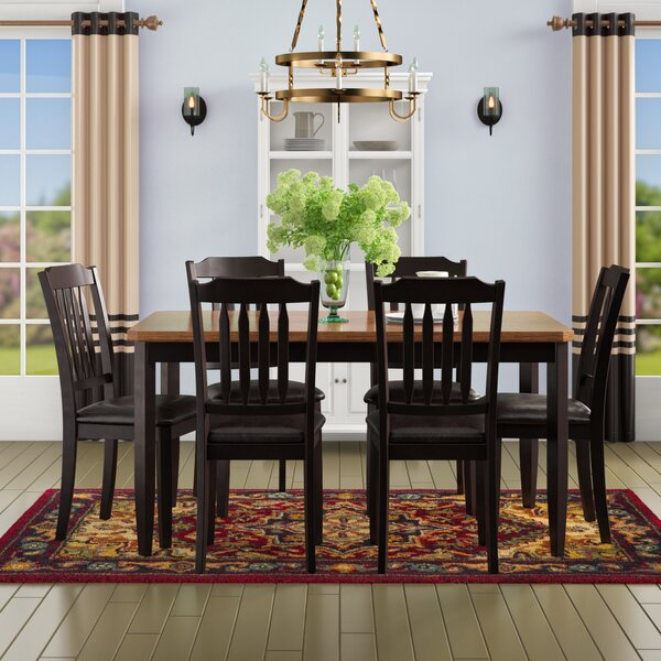 Chandlerville 7 Piece Dining Set by Andover Mills