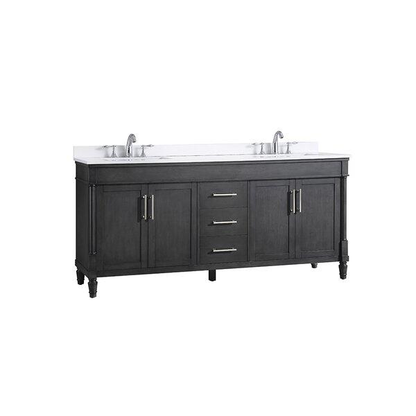 Layla 72 Double Bathroom Vanity Set