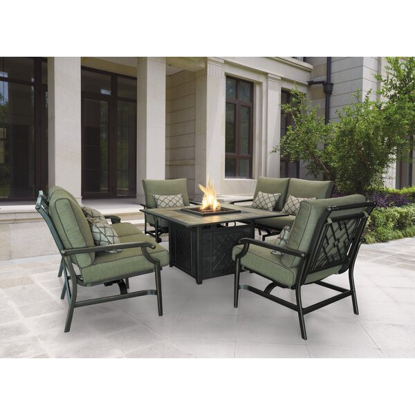 Basden Loveseat with Cushions (Set of 2) by Darby Home Co Darby Home Co